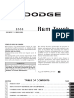 2008 Ram Gas Owners Manual