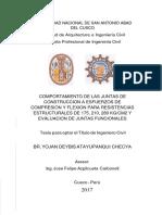 Comportamiento de las juntas a esfuerzos..pdf