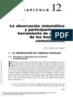 La Observación Sistemática (...))