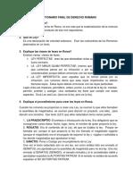 Cuestionamientos Del DERECHO ROMANO (3)