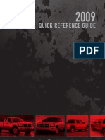 2009 Dakota Quick Reference Guide