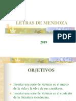 Panorama Literatura de MENDOZA