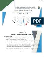 Mecánica Racional - Capitulo IV