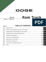 2010 Ram Gas Owners Manual