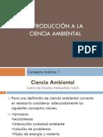 Introduccion a La Ciencia Ambiental