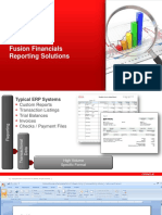 16- Fusion Reporting Solutions Overview