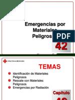 Capítulo 42 - Emergencias Por Materiales Peligrosos