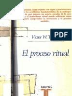 Victor Turner - El Proceso Ritual