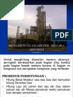 Menghitung Diameter Menara 2019