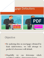 Mortgage Defaulters