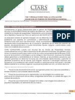 Procedimiento, Requisitos y Regulaciones Para La Solicitud