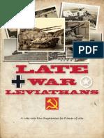 Late War Leviathans Ver.1.5