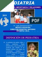 Charla 1 - Pediatria Concepto y Relaciones Semiologia Del Rn e Historia Clinica