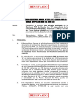 Informe de Estudio de Estado Mayor Huanta