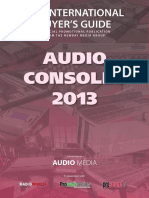 Audiomediaaudio Consolesguide2013 121226095204 Phpapp02