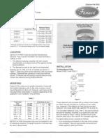 Fenwal - Hd Series 2700 - Installation Instruction