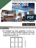 Fd 02 Aula Estruturas de Fundações