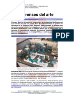 Arte y Quimica Forense