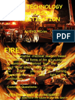 Fire Technology and Arson Investigation--AJ EYO, RCrim.--All Glory to Jesus
