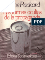 Las Formas Ocultas de Propagand - Vance Packard