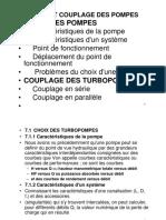 Ch 03 Choix Et Couplage Des Pompes
