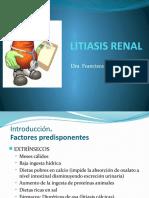 Litiasis Renal