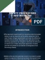 1 Safety Procedures