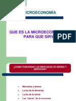 Microeconomía general