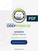 Manual de deep feeeze