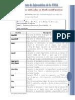 Funciones Del WorksheetFunction