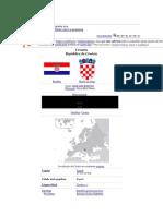 País Croácia