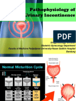 patofisiology urinary incontinence