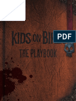 Kids on Bikes - The Playbook