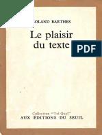 Plaisir Texte