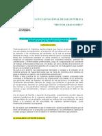 Vigilancia Epidemiológica de Los Factores de Riesgos Ambientales en El Mundo Del Trabajo