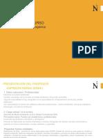 Presentación CV Docente Civiles QUINO