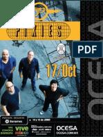 Ocesa Pixies Concierto Poster