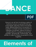 Lesson 7. Dance