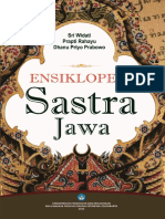 BUKU Ensiklopedia Sastra Jawa
