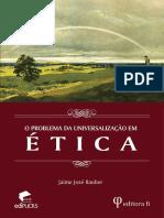 o problema da universalização em ética