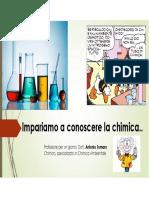 Introduzione Allo Studio Della Chimica