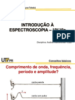 Aula 02 - Espectroscopia UV