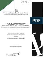 IHE - Inventario Habitos de Estudio / Adaptación Mexicana