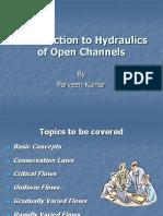 Hydraulics Open Channel Flow
