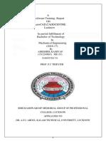 AutoCAD report pdf