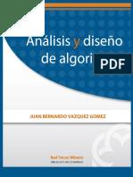 Analisis y Diseño de Algoritmos