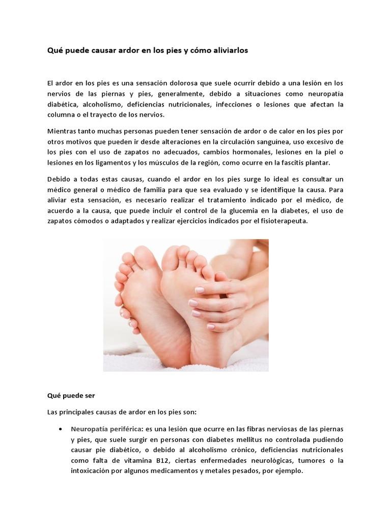 ligamento desgarrado en el pie con hematomas y diabetes