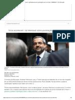 _Erros Acontecem_, Diz Weintraub Sobre Paralisação Com 'z' Em Ofício - 30-08-2019 - UOL Educação