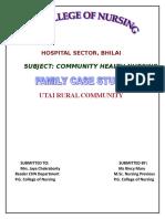 Family Case Study Rural UTTAI