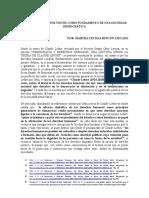 Ensayo Martha. DERECHOS HUMANOS PILAR DE LA SOCIEDAD DEMOCRÁTICA.docx